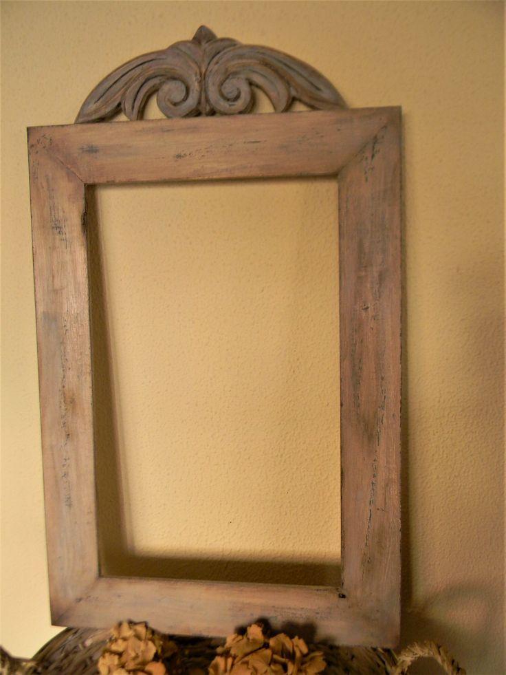 παλαίωση σε πλαίσιο ξύλινο για καθρέπτη