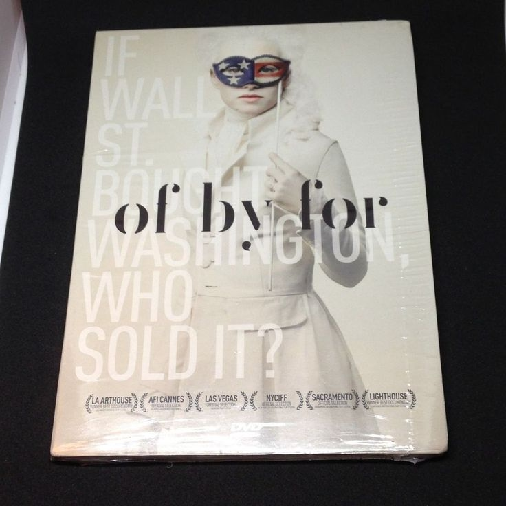 Of By For DVD Documentary Film Political RARE New Sealed Jack Abramoff