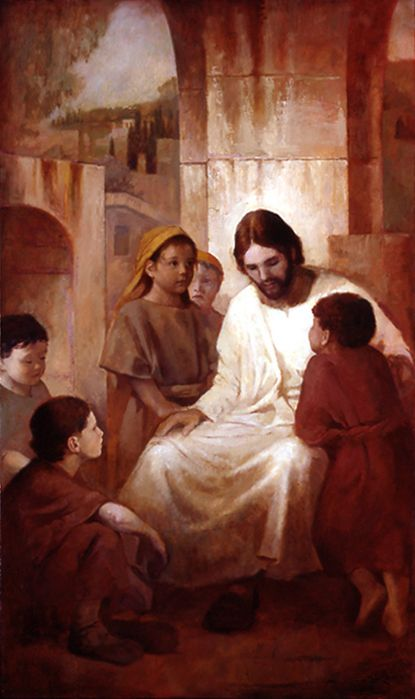 Christ with the Children J. Kirk Richards