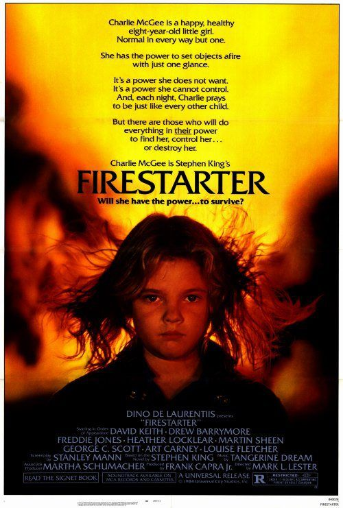 'Firestarter' (1984), filmed in Wilmington, North Carolina. #NCfilm