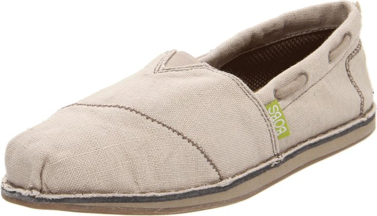 BOBS from Skechers Women's Chill-Recycle Closed-Toe Espadrille,Natural,6 M US. Slip-on style with adjustable, boat-inspired slotted collar. Contrast stitching. Breathability grommets.