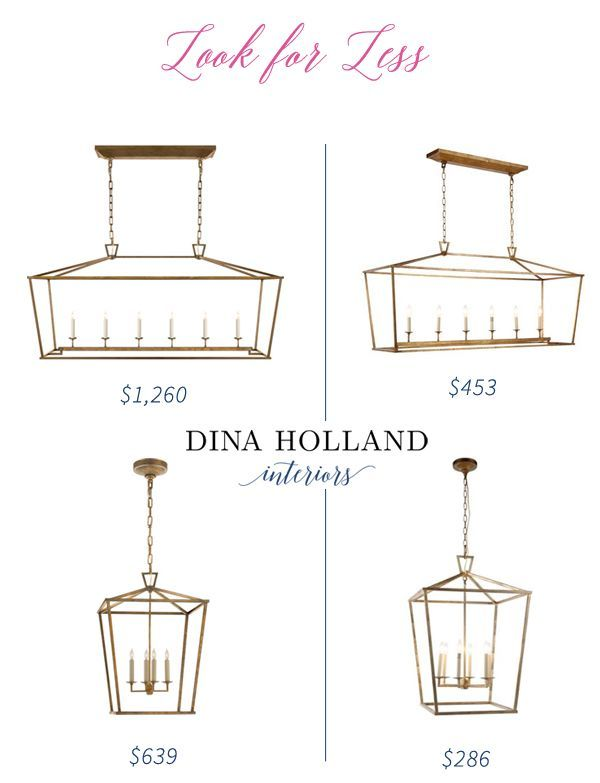 Look for Less: Darlana Pendant Knock-off Lookalike | dina holland interiors | Bloglovin'
