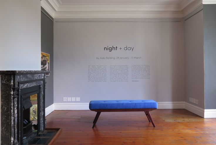 night + day by Aldo Balding opens tomorrow at 6:30pm. (28 January – 11 March).
