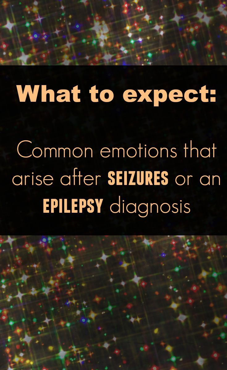 After a seizure or after an epilepsy diagnosis, emotions may arise for the individual and their family that are outside of what you might expect. This explains the roller coaster of emotions that followed my post-seizure experience and what caused the emotions to come up.