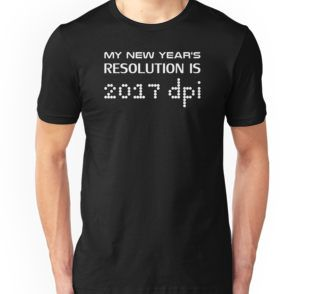 My New Year's Resolution is 2017 dpi - Get this geek tshirt. Also available on Men's and Woman's hoodies, t-shirts as well as mugs, laptop cases, wall clocks.