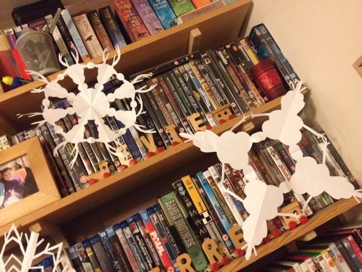 Olaf and Sven snowflakes
