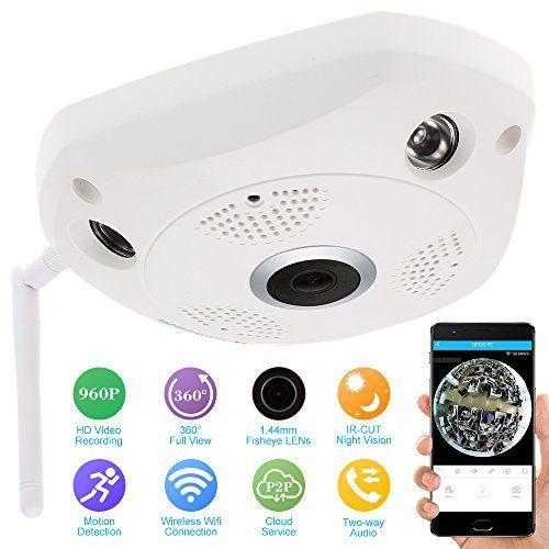 Szsinocam 960P HD IP Cámara Panorámica Wi-fi Full View 360 - https://realidadvirtual360vr.com/producto/szsinocam-960p-hd-ip-cmara-panormica-wifi-full-view-360-grados-vr1-44mm-lens-ojos-de-vez-seguridad-interior-cctv-con-antena-app-control-remoto/ #RealidadVirtual #VirtualReaity #VR #360 #RealidadVirtualInmersiva