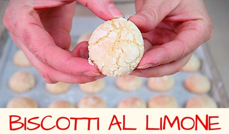 BISCOTTI AL LIMONE fatti in casa – Homemade Lemon Cookies