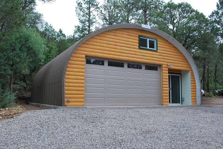 41 best quonset houses images on pinterest for Metal building cabin kits