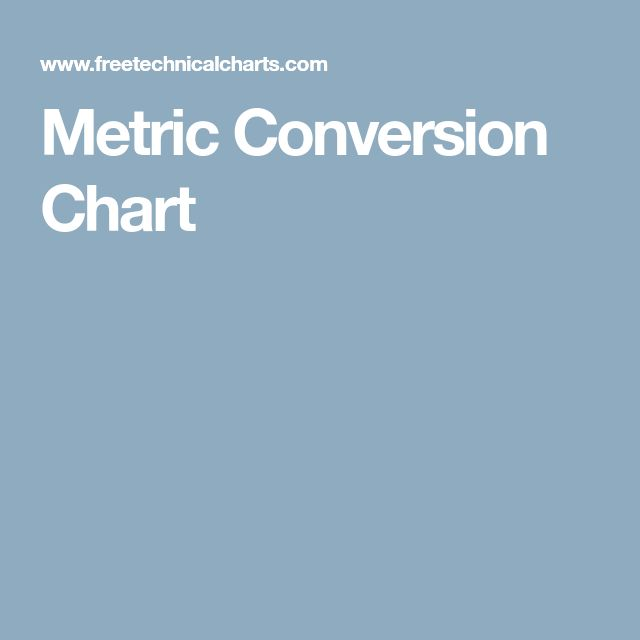 Best 25+ Metric conversion ideas on Pinterest Metric system - unit conversion chart