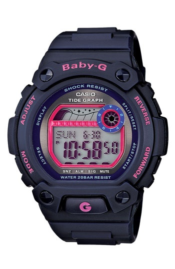 Casio 'Baby-G Tide Graph' Digital Watch available at #Nordstrom