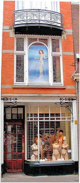 Jugendstil -  Korte Poten 40, Den Haag, Netherland