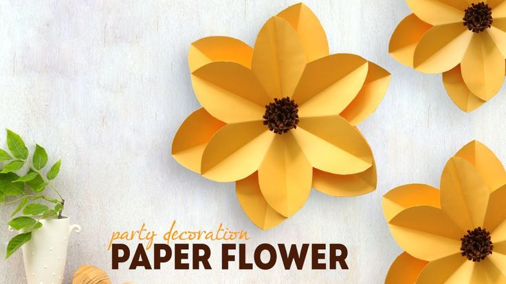 how to make easy paper flowers for cards
