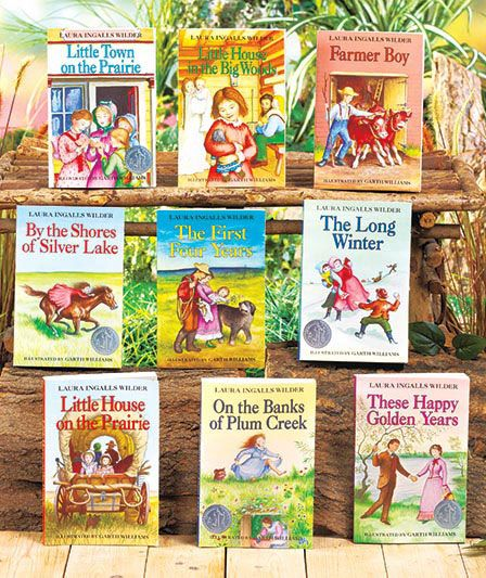 Little House on the Prairie book set for A.