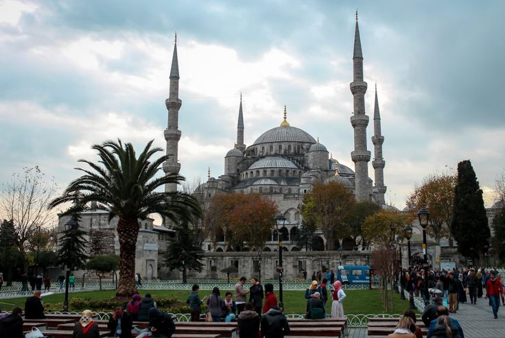 Sultan Ahmed Mosque Blue Mosque Istanbul Turkey 1