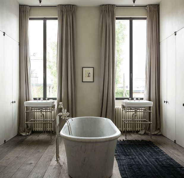 36 best ba os con estilo stylish bathrooms images on - Banos rusticos modernos ...