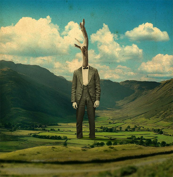 Joseba Elorza is a sound technician who makes a living with his unique brand of digital collage and illustration. The Spain-based artist blends humor, technology, science fiction and anonymous historical photography to create some really splendid digital imagery. You can see much mor
