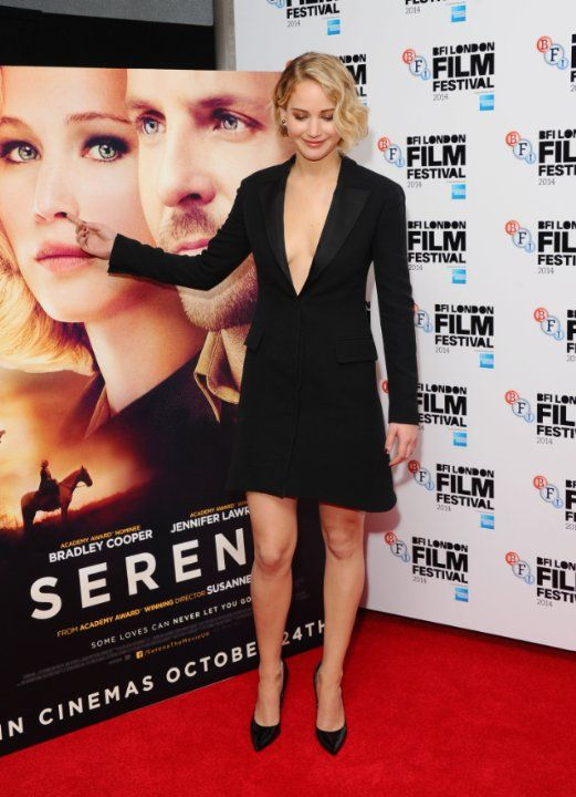 Jennifer Lawrence at event of Serena (2014)