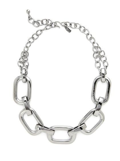 Rectangular Link Necklace