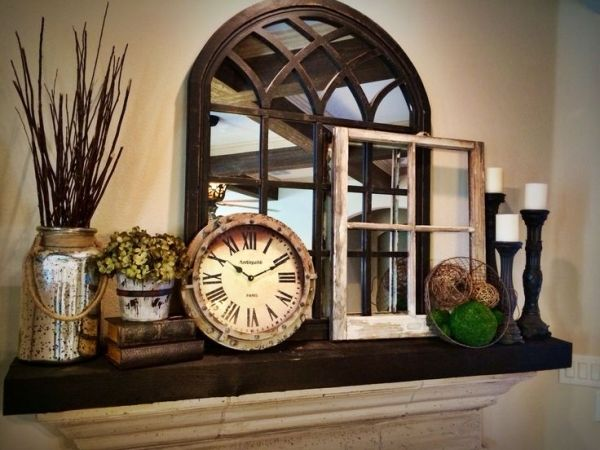 564 best Mantels and mirrors decorating images on Pinterest ...