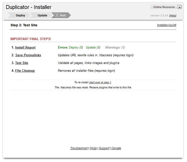 Migrácia CMS Wordpress na iný hosting, alebo inú doménuEXO HOSTING blog
