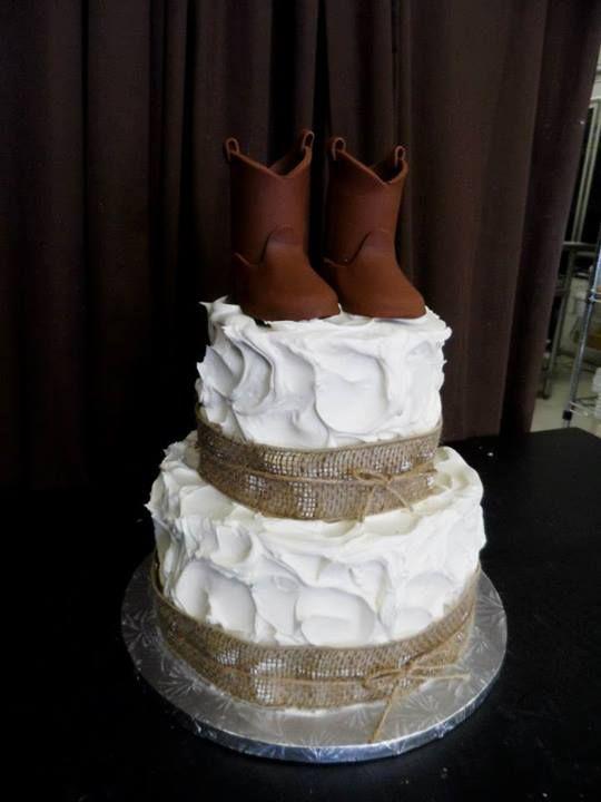 western wedding shower cakes