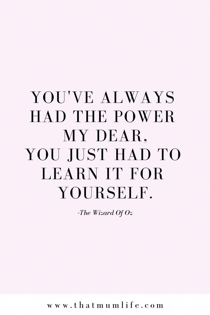 Wizard Of Oz Wisdom Positive Quotes Inspirational Quotes Quotes To Live By