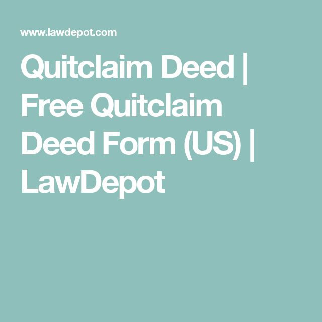 Best  Quitclaim Deed Ideas On   Will And Testament