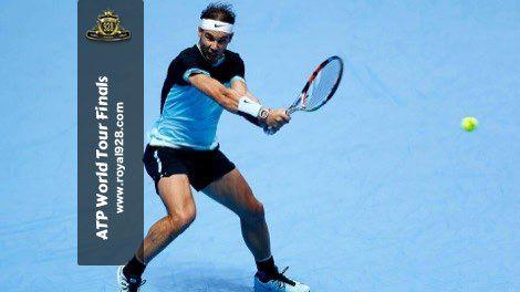 Agen Bola - Rafael Nadal petenis asal Spanyol peringkat 5 dunia berhasil mengalahkan petenis andalan Inggris Andy Murray di pertandingan kedua mereka pada turnamen tenis final musim ATP World Tour Finals 2015 yang baru saja berakhir di O2 Arena, London.