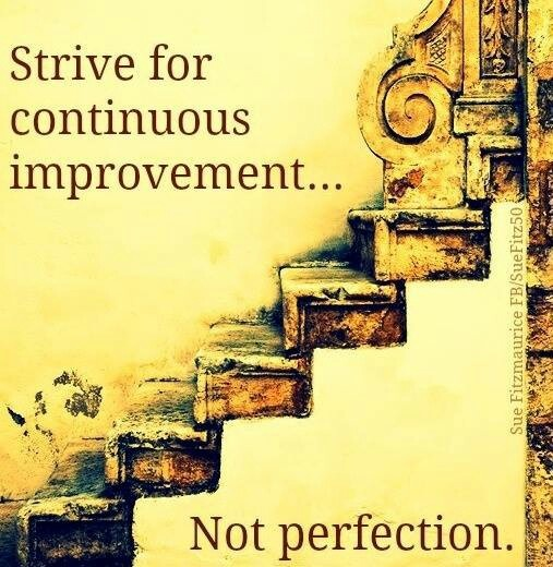 Persistence Motivational Quotes: 22 Best Images About Progress Not Perfection On Pinterest