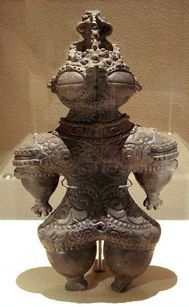 Dogu are from the earliest-dated tradition of pottery manufacture in the world, dating to the prehistoric Jomon period, which began 16,000 years ago. Japan
