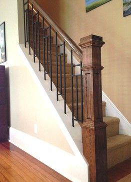 Interior railings - craftsman - Family Room - Philadelphia - Ironfire Railings