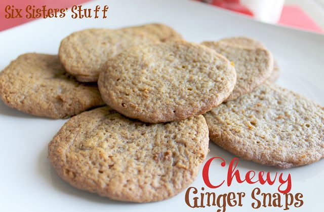 Ginger Snap Cookies with Truvia (R) Baking Blend #recipe #christmas #truvia #holiday