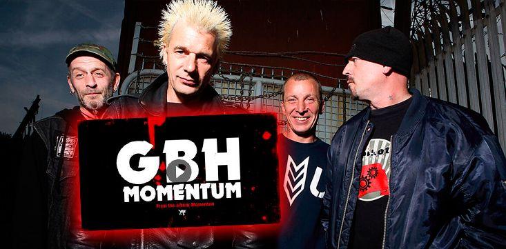 Los británicos GBH publican 'Momentum' el single adelanto de su nuevo disco