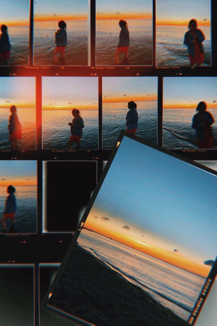 эффект пленочной фотографии инстаграм праздничный