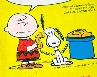 1973 Charles Schulz Take It Easy Charlie Brown by TheIDconnection