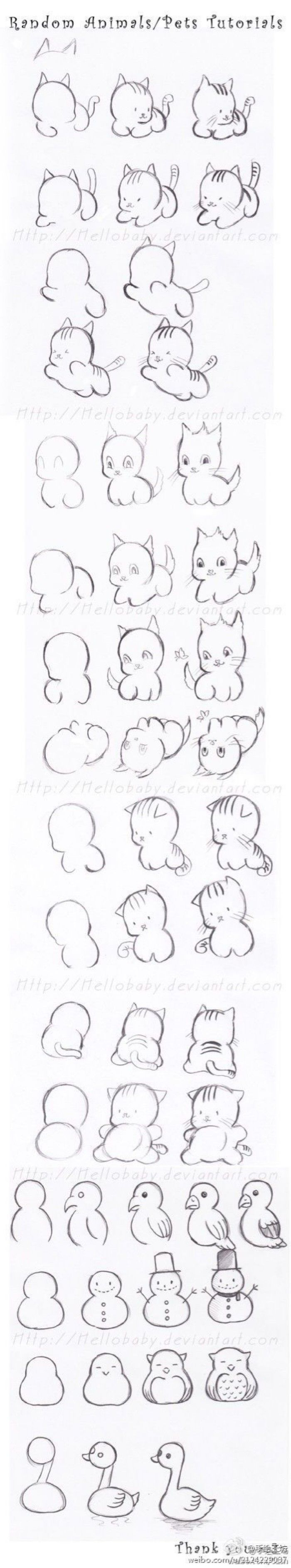 Guía Figura del palillo figura del palillo ilustración de dibujos animados gatito muñeco pintado
