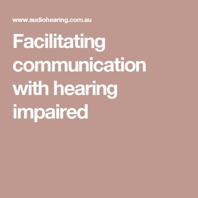 Facilitating communication with hearing impaired- A local hearing specialist with various earring aids, and descriptions of them.