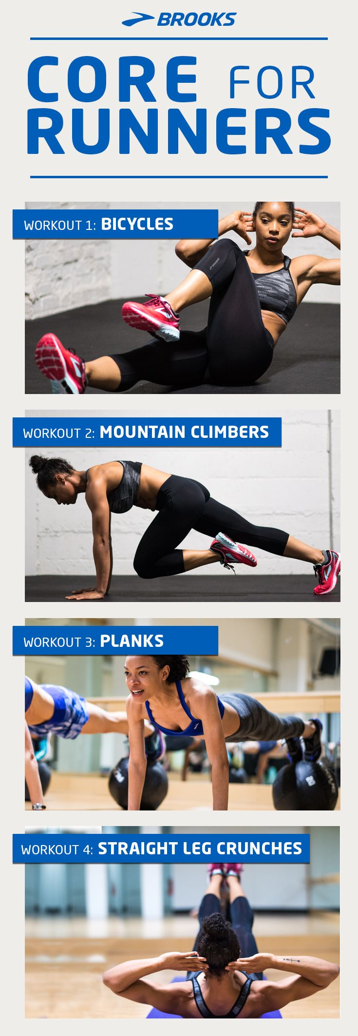 Core for Runners | Get ready for your run using these ab workouts.