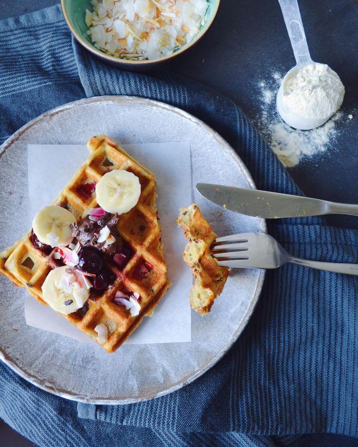 Protein Vafler af Pancake Mix