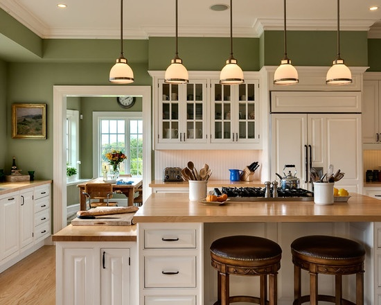 Green Kitchen Wall Design, Pictures, Remodel, Decor and Ideas