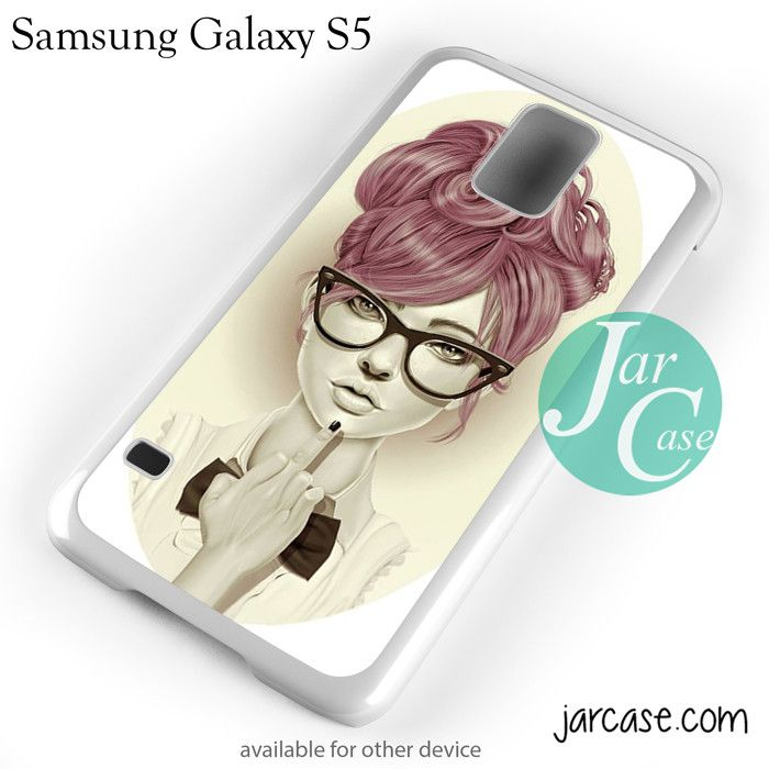 Sarcastic Girl YP Phone case for samsung galaxy S3/S4/S5