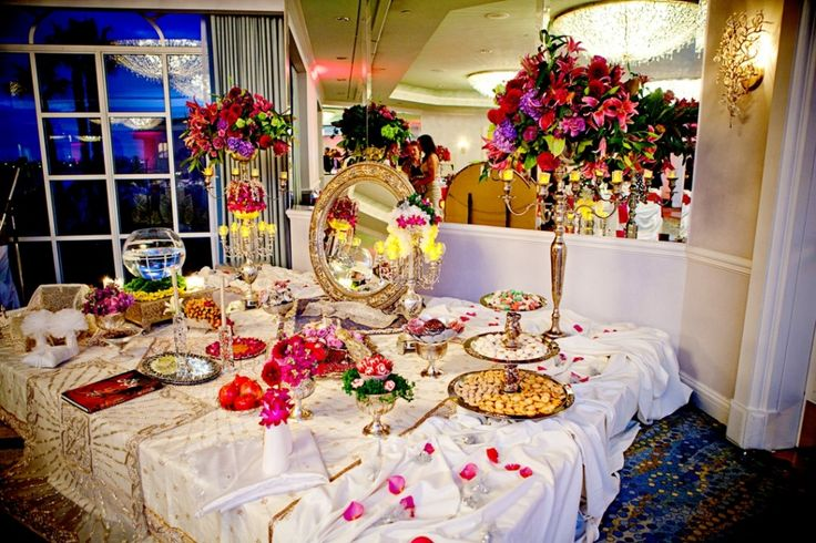 20 best persian table setting images on pinterest for Persian wedding ceremony table