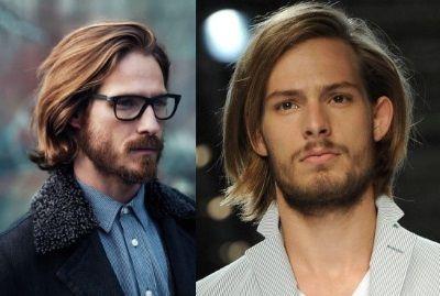 Картинки по запросу мужские прически длинные волосы