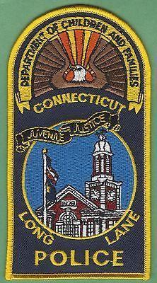 Long Lane Connecticut Police Patch