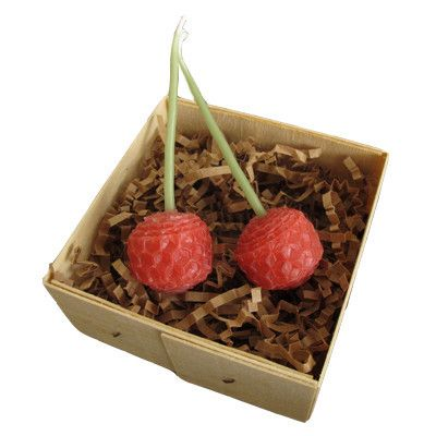 CHERRY BEESWAX CANDLES