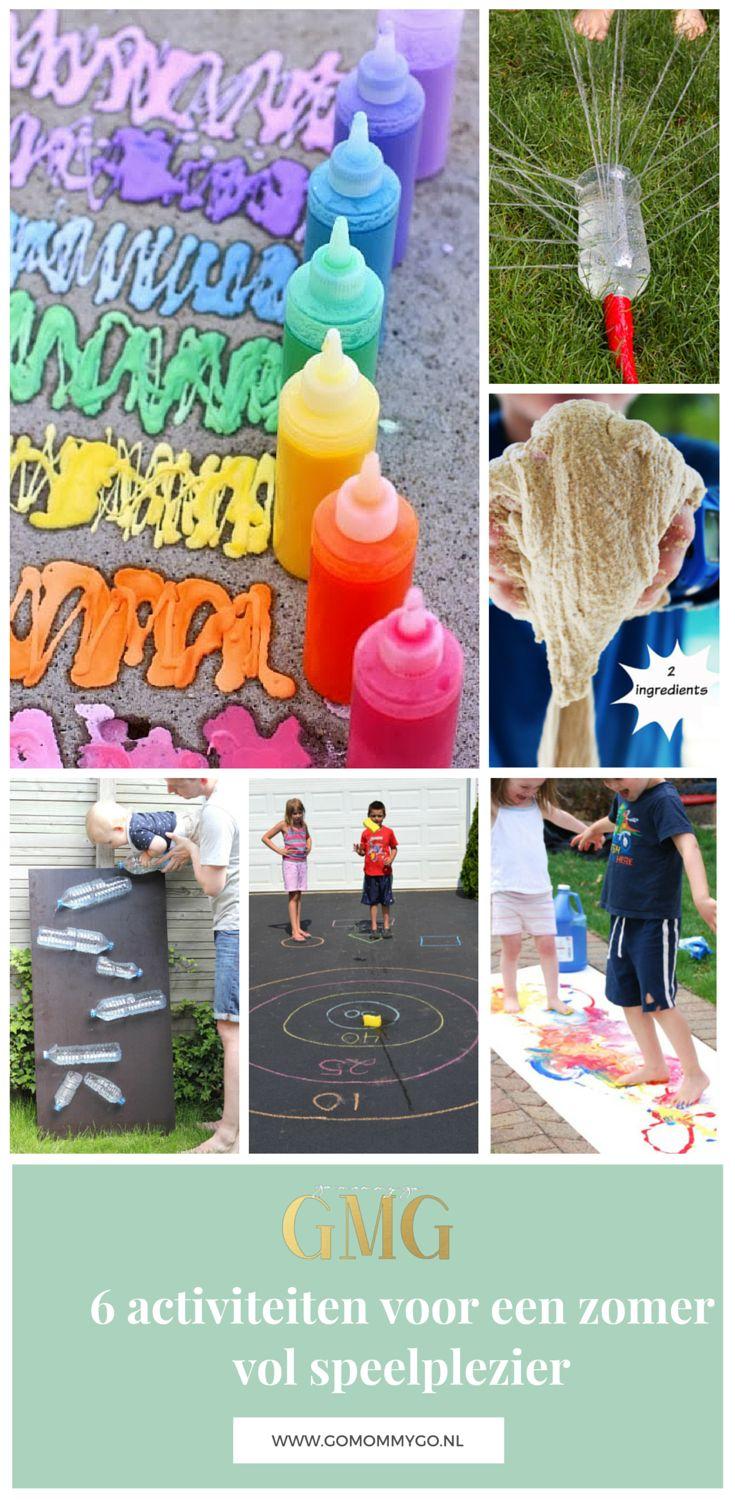 6 leuke, snelle en goedkope DIY activiteiten voor een zomer vol speelplezier   gomommygo.nl