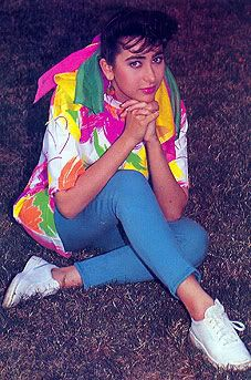 Karishma Kapoor's very old & unseen pic