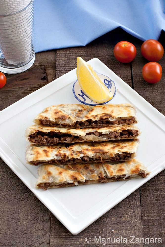 Turkish Gozleme (beef or lamb) {I really want to make these, but they can a bit labor intensive for lazy me, so I looked at a bunch of recipes... this one was the simplest.}