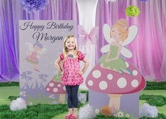Garden Fairies Birthday Theme